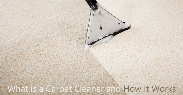What is a carpet cleaner and how it works