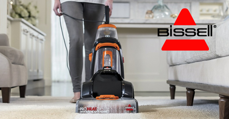 Using Bissell carpet cleaners