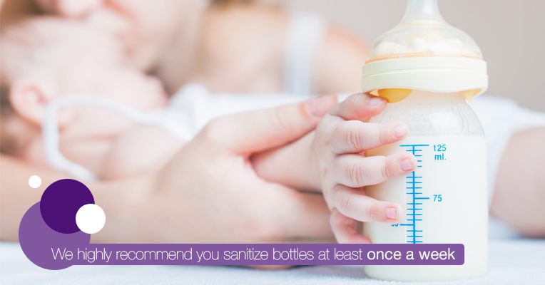 How often bottles need sterilization