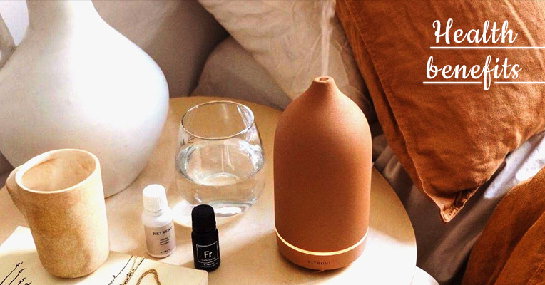 Health benefits of essential oil diffusing
