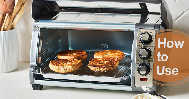 How to use a convection toaster oven