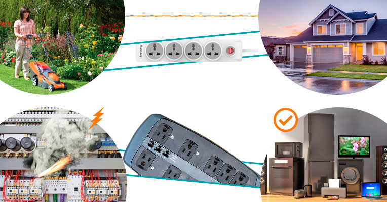Household appliances that require connection to a surge protector