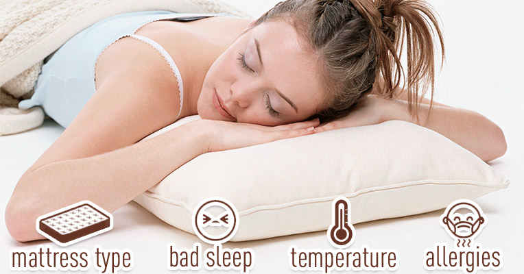 Specialty needs for comfortable sleep