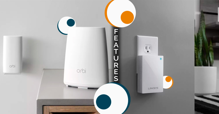 Velop and Orbi features