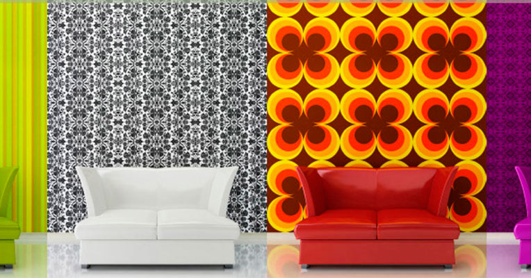 Different types of wallpaper