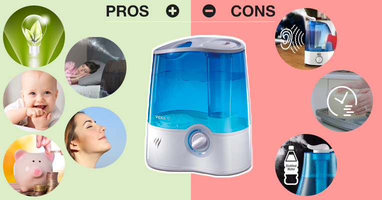 Cool mist humidifiers: pros and cons