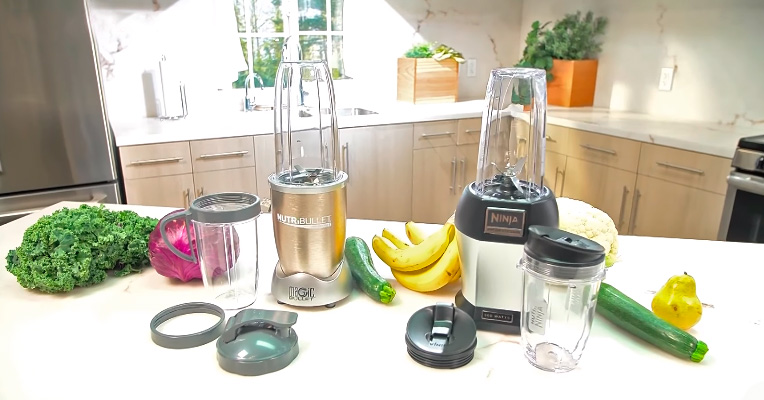 Components comparison of NutriBullet and Nutri Ninja