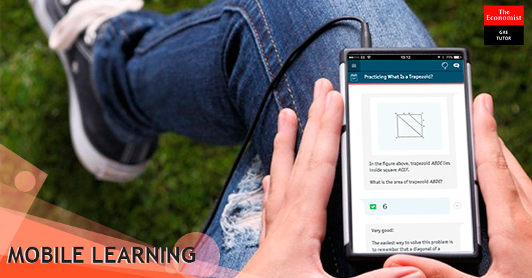 Mobile-optimized design for comfortable learning