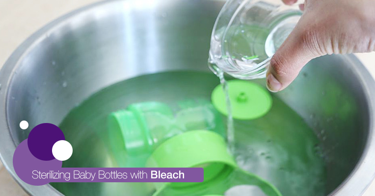 Sterilizing with bleach