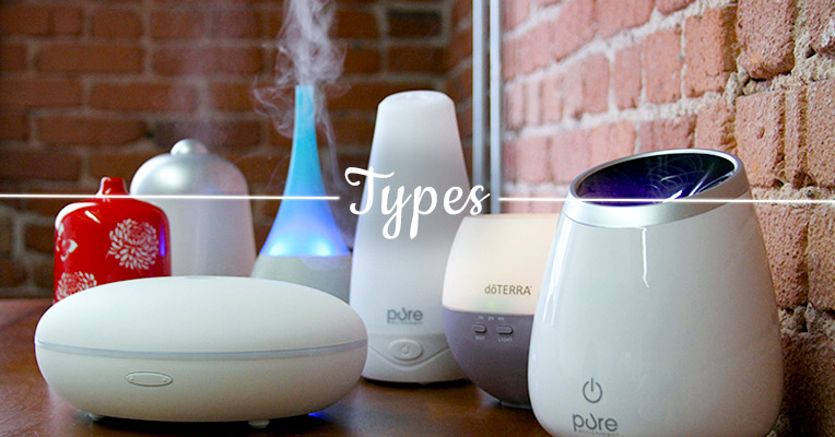 Types of Essential Oil Diffusers