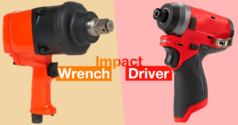 Differences Between an Impact Driver and Impact Wrench