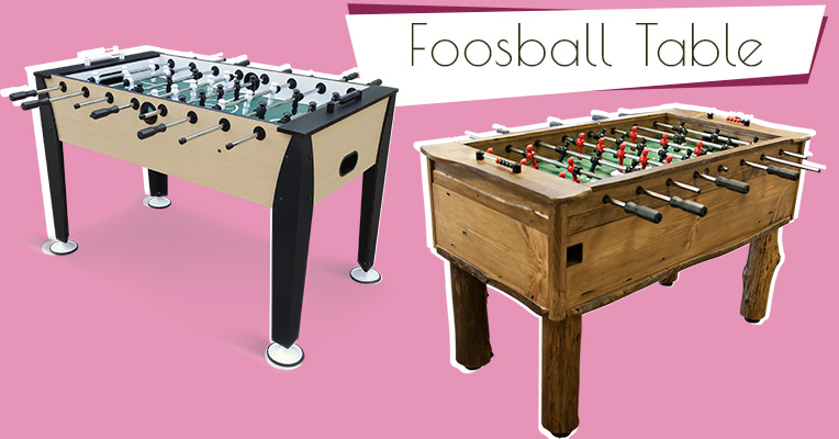 Fossball table