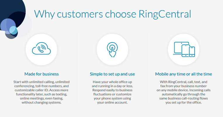 Why people choose RingCentral