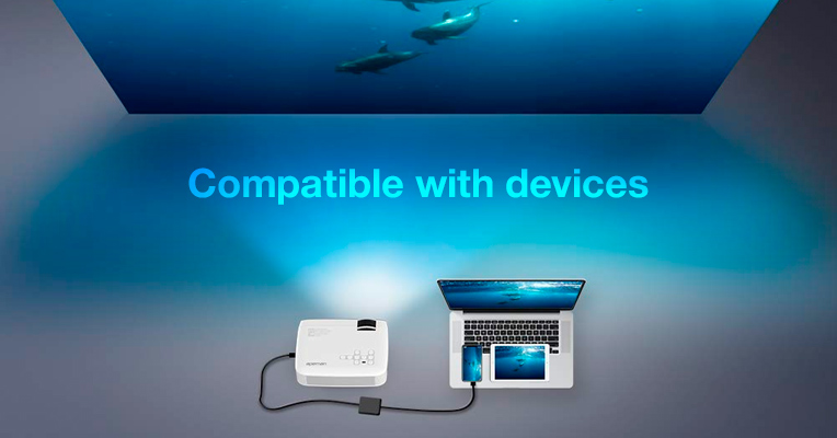 Devices compatible with projectors