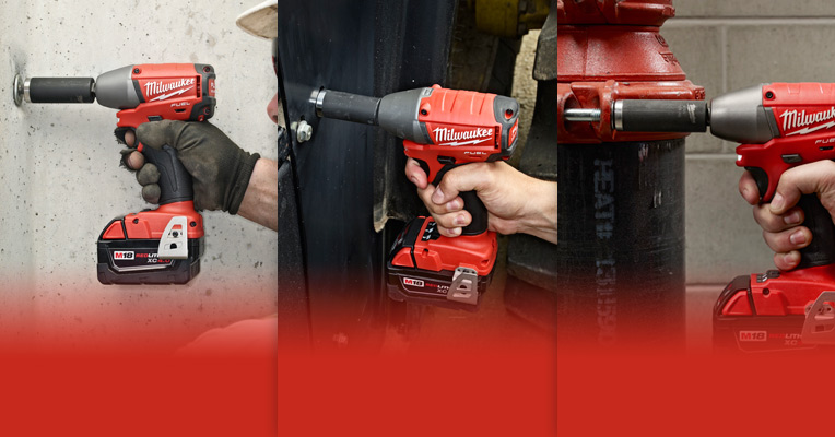 Impact Wrench in Use