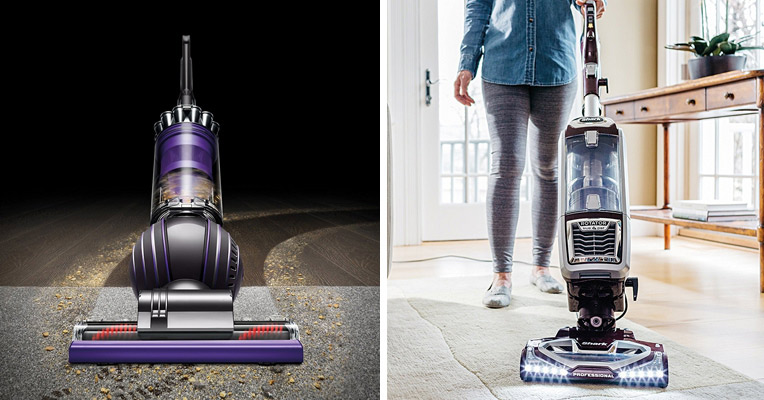 Dyson DC65 Animal vs. Shark Rotator NV752