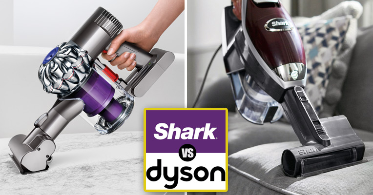 Shark Rocket TruePet vs. Dyson V6 Animal
