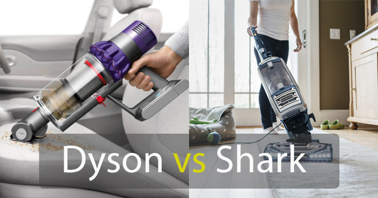 Shark vs. Dyson Vacuum Cleaners