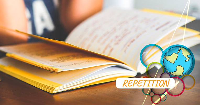 Repetition is the most effective way to learn new words