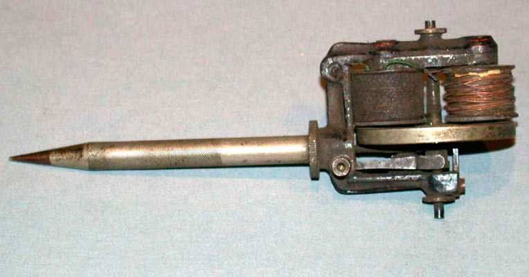 First tattoo machine was intended to be used as a duplicating device