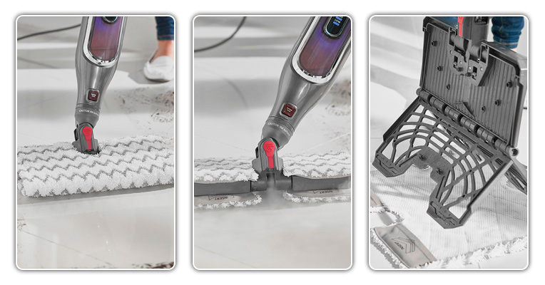 See how to use a Shark steam mop