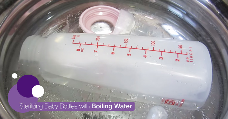 Sterilizing with water