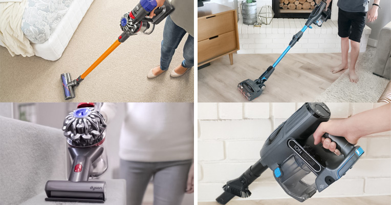 Shark IONFlex and Dyson V8
