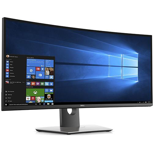 Dell U3417W FR3PK 34-Inch UltraSharp Curved LED-Lit Monitor