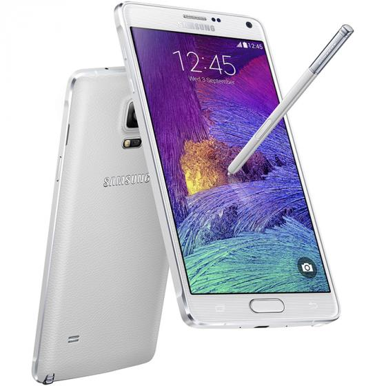 Samsung Galaxy Note 4 (N910v) 32GB Verizon Wireless CDMA Smartphone - Frosted White