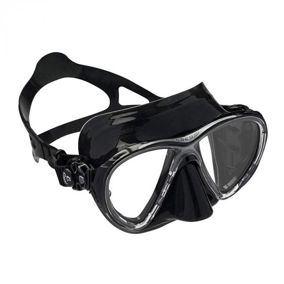 Cressi Big Eyes Evolution Adult Patented Inclined Inverted Teardrops Lens Mask for Scuba, Snorkeling, Freediving