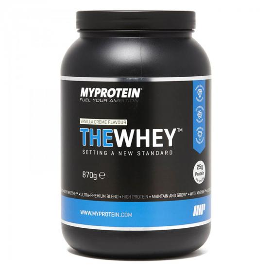 Myprotein The Whey Vanilla Ice Cream, 2.1 lbs (30 Servings)