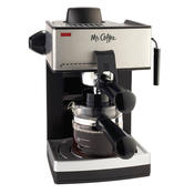 Mr. Coffee ECM160 4-Cup Steam Espresso System with Milk Frother