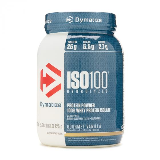 Dymatize ISO 100 Whey Protein Powder with 25g of Hydrolyzed 100% Whey Isolate
