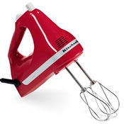 KitchenAid KHM9P 9-Speed Hand Mixer, Empire Red