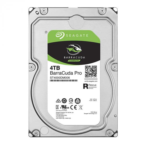 Seagate BarraCuda Pro 4TB Internal Hard Drive Performance HDD