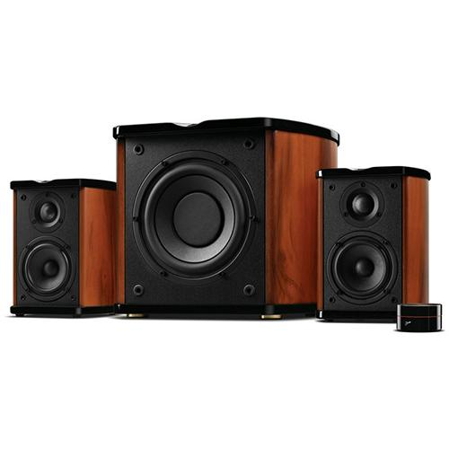 Swan M50W Powered 2.1 Bookshelf Speakers