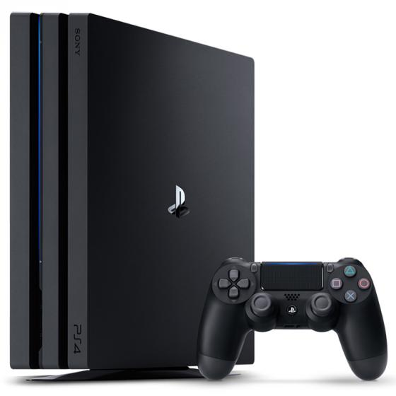 Sony PlayStation 4 Pro 1 TB, Black