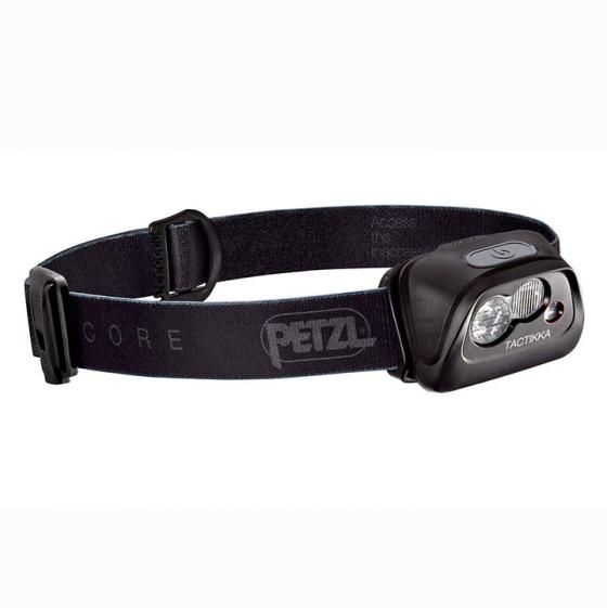 Petzl TACTIKKA CORE Headlamp, 350 Lumens, with ACCU CORE, Black