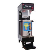 Grindmaster-Cecilware TB3 BREWER B13T Stainless Steel Fresh Brewed Ice Tea Brewer and Dispenser