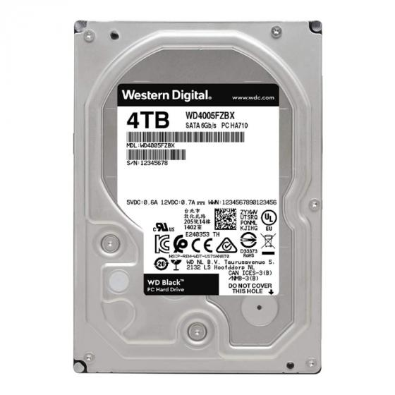 Western Digital Black 4TB Performance Internal Hard Drive