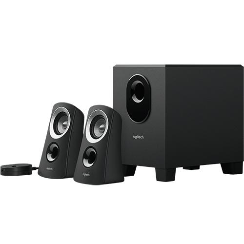Logitech Z313 2.1 Channel Multimedia Computer Speaker System with Subwoofer