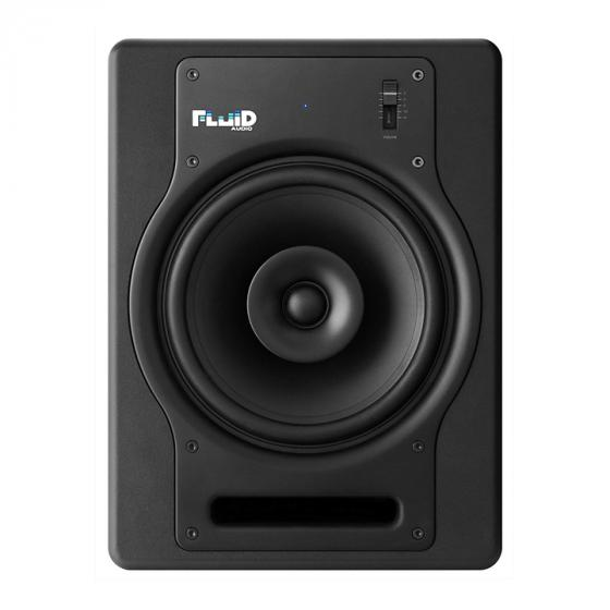 Fluid FX8 8-Inch Coaxial 2-way Studio Reference Monitor, Black