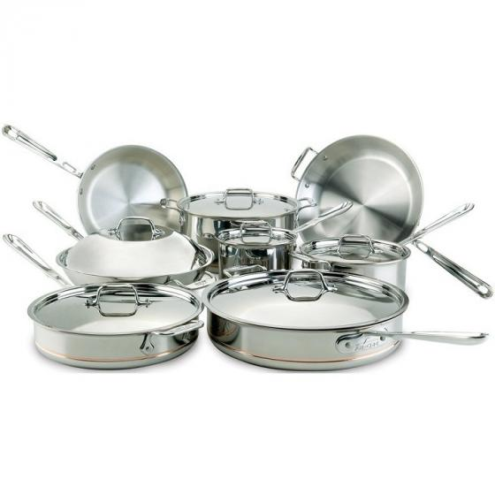 All-Clad 60090 Copper Core 14-Piece Set