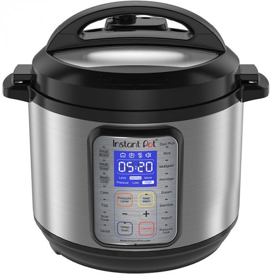 Instant Pot DUO 60 Plus (9-in-1) 6 Qt Multi- Use Programmable Pressure Cooker
