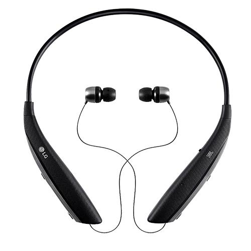 LG Tone Ultra (HBS-820) Bluetooth Wireless Stereo Headset - Black