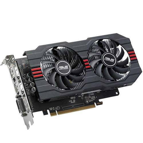 ASUS Radeon RX 560 14CU 4GB EVO OC Edition GDDR5 DP HDMI DVI AMD Graphics Card (RX560-O4G-EVO)