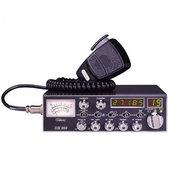Galaxy DX 959 40 Channel AM/SSB Mobile CB Radio