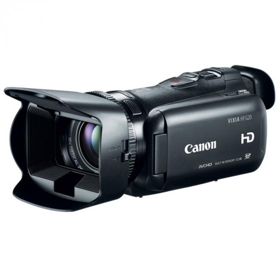 Canon VIXIA HF G20 Internal Flash Memory