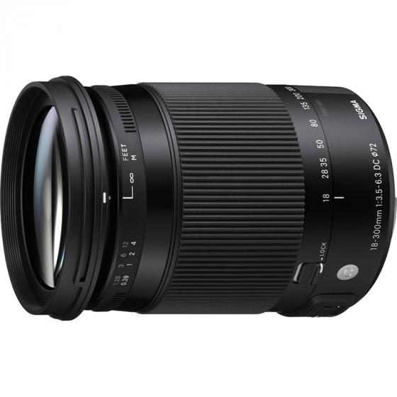Sigma 18-300mm F3.5-6.3 DC MACRO OS HSM | C Lens for Nikon