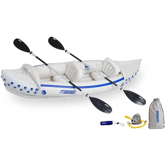 Sea Eagle SE330 Inflatable Kayak with Deluxe Package